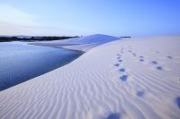 ブラジル レンソイス・マラニャンセス国立公園 白い砂丘