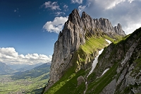 スイス  渓谷