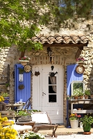 フランス ヴォクリューズ県 家とガーデン