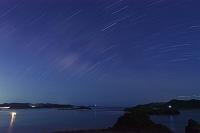 沖縄県 座間味島 慶良間諸島と星空