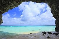 砂山ビーチと海