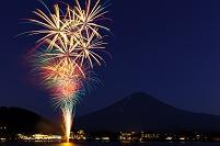 山梨県 河口湖湖上祭