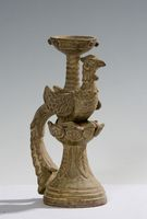 不死鳥の陶器