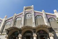 メルカード 中央市場 正面 バレンシア