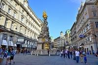 オーストリア ウィーン グラーベン 三位一体像(ペスト記念柱)