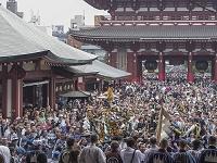 東京都 浅草 雷門 三社祭