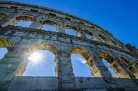 クロアチア プーラ 大劇場(プーラのコロッセウム)