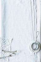 テーブルクロスの布