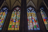 ドイツ ケルン ケルン大聖堂 ステンドグラス