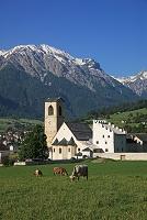 スイス ミュスタイア ザンクト・ヨハン修道院