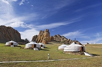 モンゴル テレルジ国立公園
