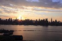 アメリカ合衆国 ニューヨーク マンハッタンビル群 ハドソンリ...