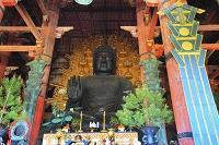 奈良県 東大寺 大仏殿の盧舎那仏像