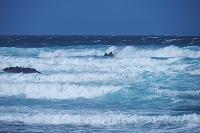 北海道 日本海の荒波