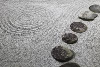 京都府 両足院 枯山水の庭園