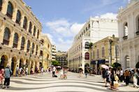 マカオ歴史地区のセナド広場