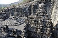 インド エローラ石窟群 カイラーサ寺院