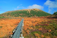福島県 浄土平の湿原と吾妻小富士