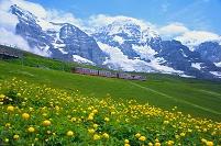 スイス クライネ・シャイデック ユングフラウ鉄道