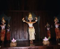 カンボジア アプサラ