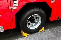 東京都 消防車両の車止め