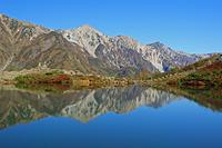 長野県 八方池と白馬三山