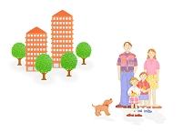 家族とマンション