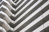 高層マンションの外壁