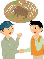 野生鳥獣による農作物被害に対する市民連携