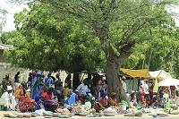 セネガルのマーケット