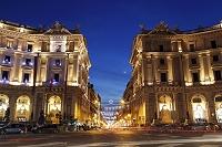 イタリア ローマ 共和国広場