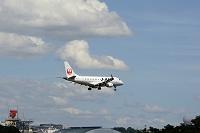 大阪府 大阪国際空港に着陸体制