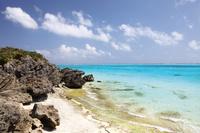 鹿児島県 与論島のビーチ