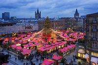 ドイツ ケルン大聖堂のクリスマス市