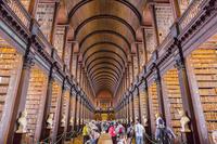 アイルランド ダブリン トリニティー・カレッジ 図書館