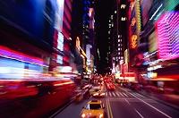 ニューヨーク タイムズスクエア・42丁目周辺