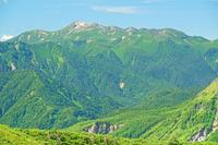 長野県 西穂山稜から乗鞍岳