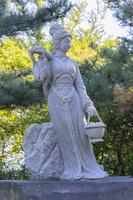 秋田県 蚶満寺の西施像