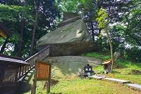 岩手県 櫻山神社 烏帽子岩