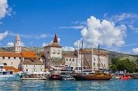 クロアチア トロギール 旧市街