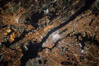 アメリカ ニューヨーク 衛星写真