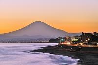 神奈川県 江の島夕景