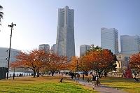神奈川県 運河パークとランドマークタワー