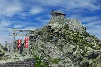 富山県 立山雄山山頂