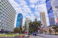 オーストラリア パースの市街