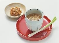 喉のためのネギ味噌スープ
