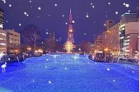 北海道 さっぽろホワイトイルミネーションとさっぽろテレビ塔
