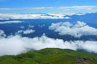 長野県 九合目の御嶽山からの雲海(2016年9月)