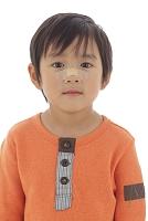 怪我をした日本人の男の子