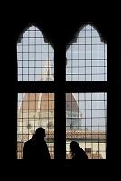 フィレンツェ 窓辺よりサンタ・マリア・デル・フィオーレ大聖堂